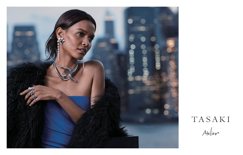 Liya Kebede stars in Tasaki Jewelry 2018 campaign