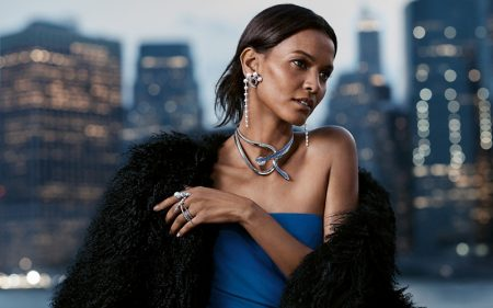 Liya Kebede Fronts City Scenes for Tasaki Jewelry Campaign