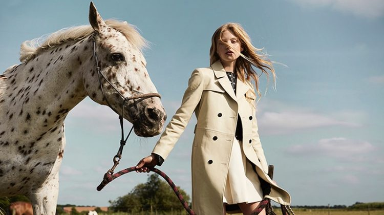 Tes Linnenkoper Wears Equestrian Style in Marie Claire Netherlands