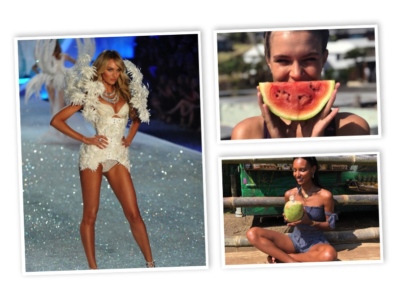 Find out about Victoria's Secret models' diets
