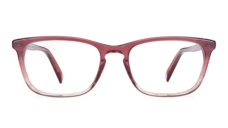 Warby Parker x Anna Akana Welty Glasses in Rosefinch Fade $95