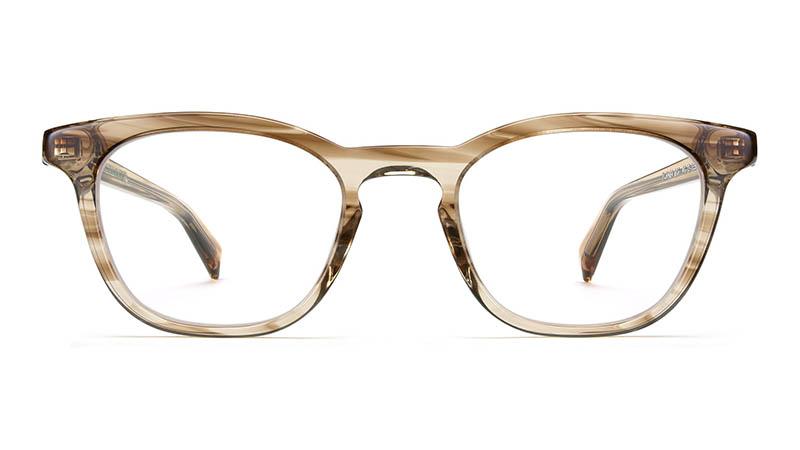 Warby Parker Turner Glasses in Chestnut Crystal $95