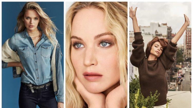 Week in Review | Emily Ratajkowski's New Cover, Romee Strijd Models Mavi, Jennifer Lawrence for ELLE France + More