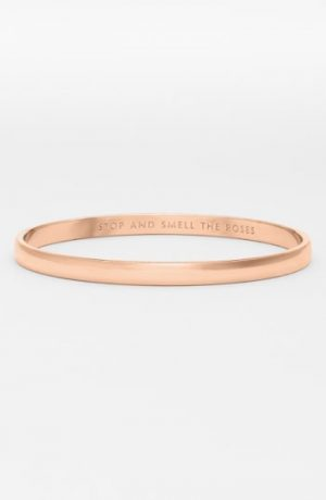 Women's Kate Spade New York 'Idiom - Stop And Smell The Roses' Bangle