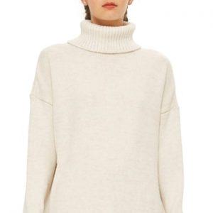 13d6d91e37f Women s Topshop Turtleneck Sweater Dress