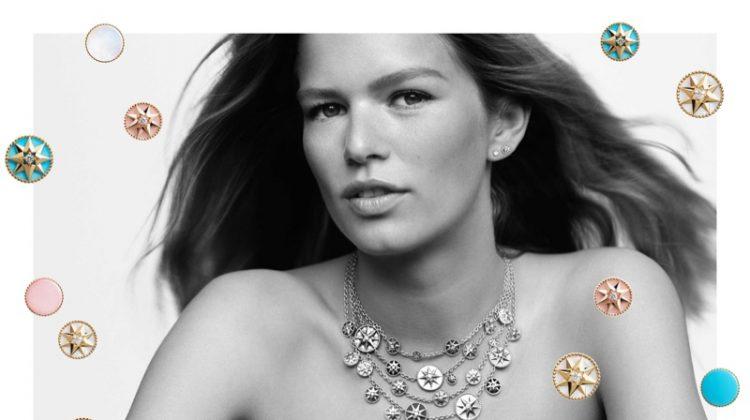 Dior unveils Rose des Vents jewelry campaign