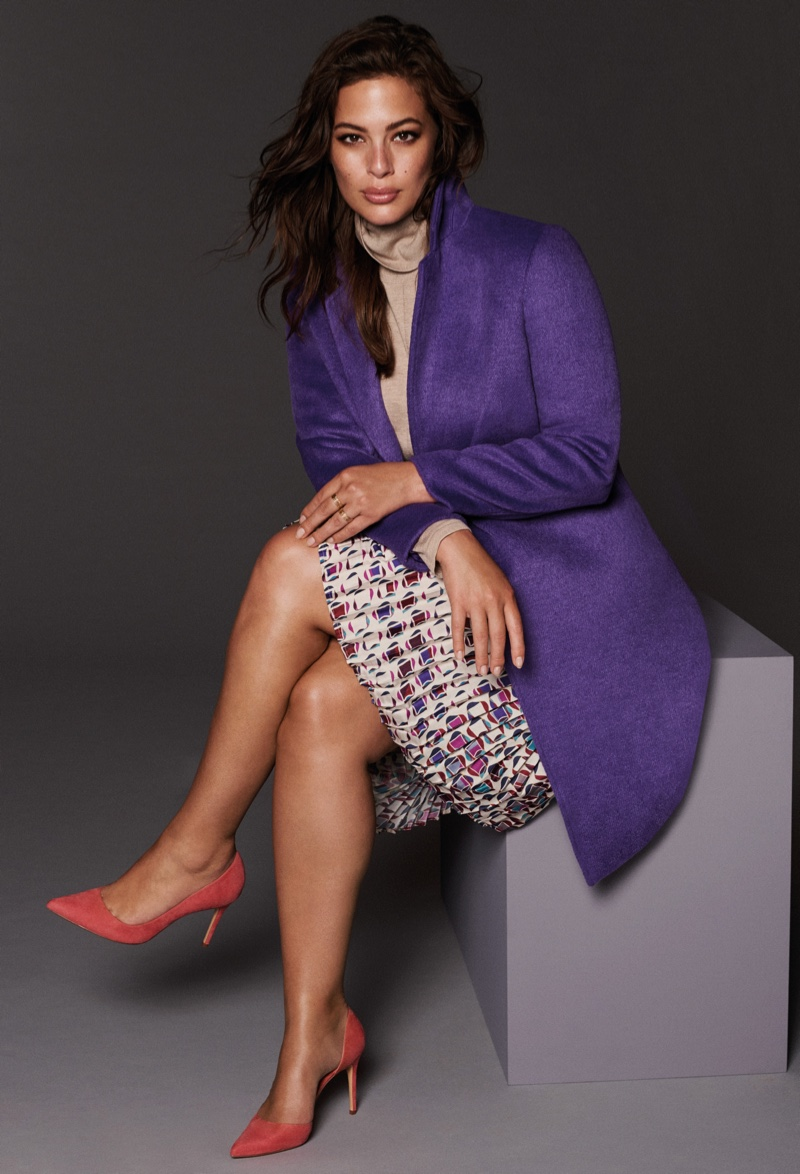 Violeta by Mango taps Ashley Graham for fall-winter 2018 campaign