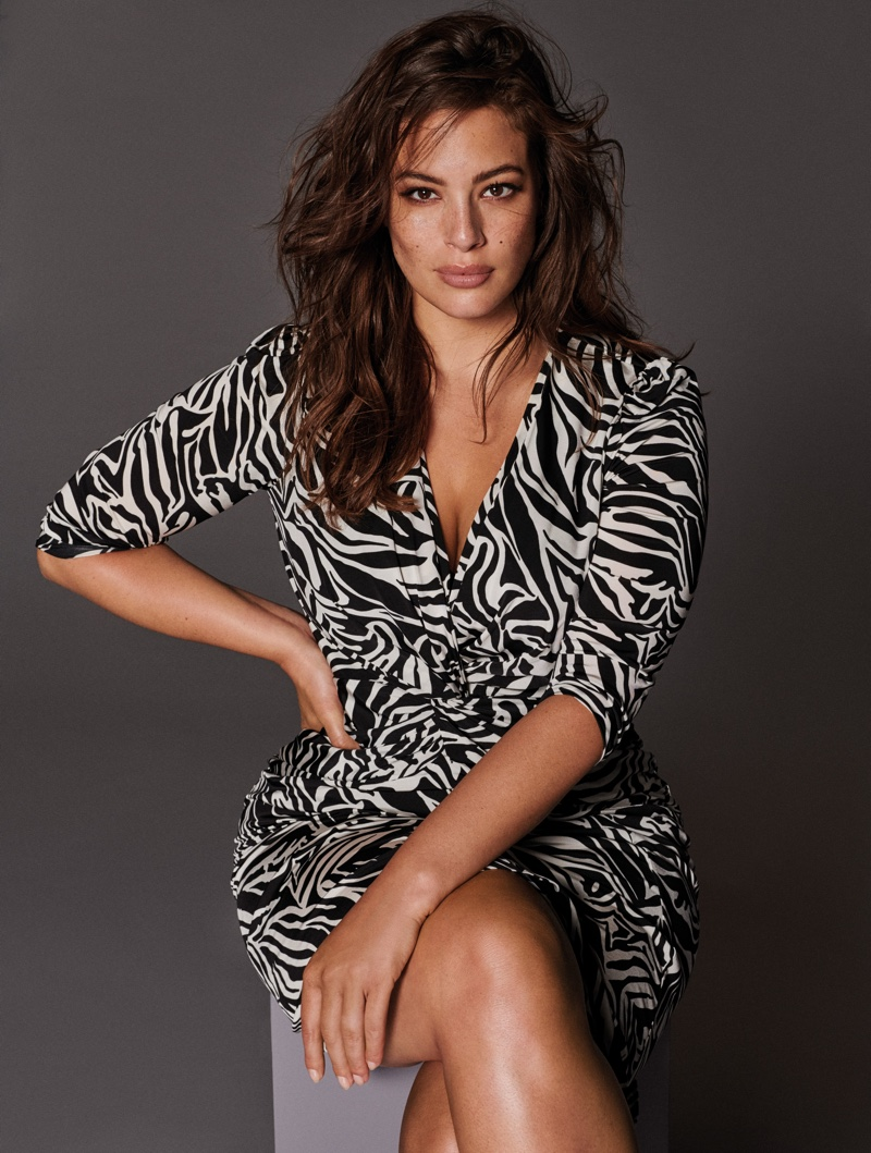 Ashley Graham stars in Violeta by Mango fall-winter 2018 campaign