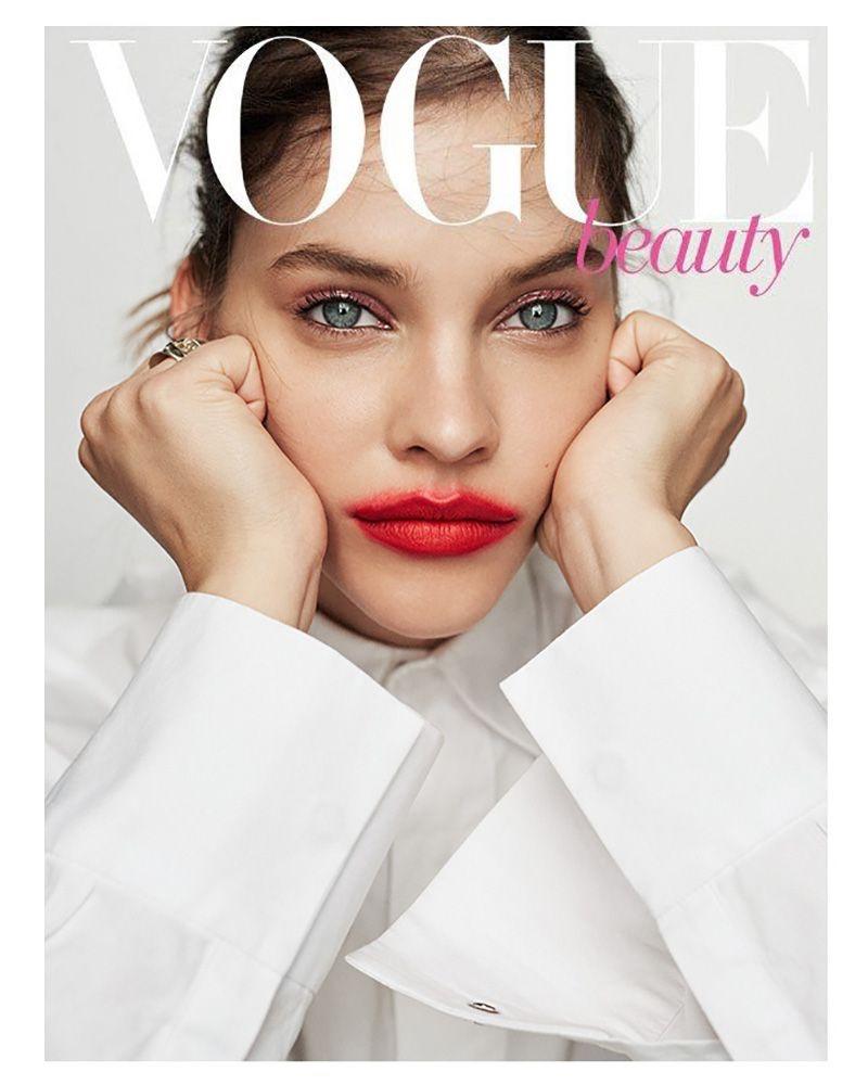 Barbara Palvin Models Bold Makeup Looks for Vogue Taiwan