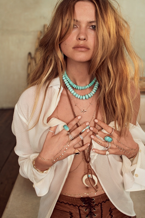 Jacquie Aiche taps Behati Prinsloo for fall 2018 campaign