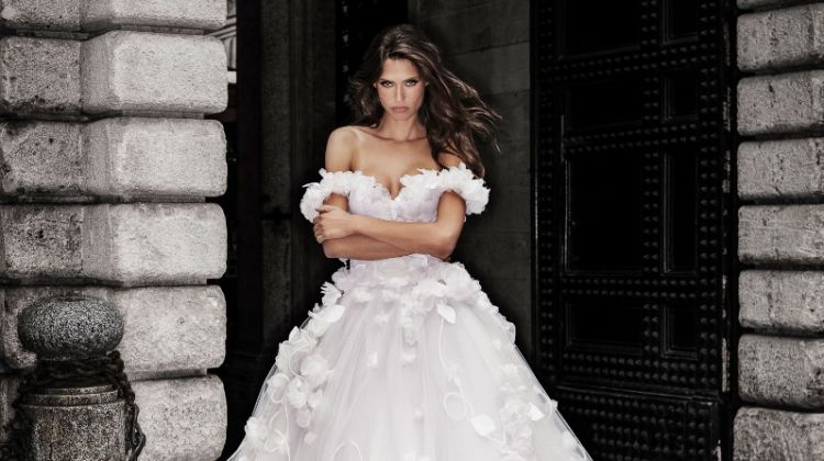 Bianca Balti fronts Alessandro Angelozzi Couture 2019 Bridal collection campaign