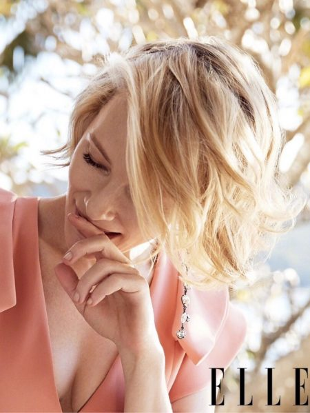 Cate Blanchett is Divine in Giorgio Armani for ELLE China