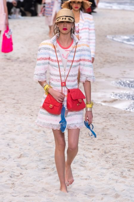 Chanel Goes to the Beach for Spring 2019