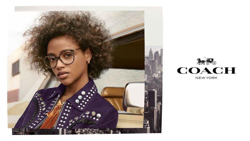Coach Eyewear taps Aya Jones for its fall-winter 2018 campaign