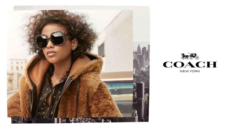 Coach unveils fall-winter 2018 eyewear campaign