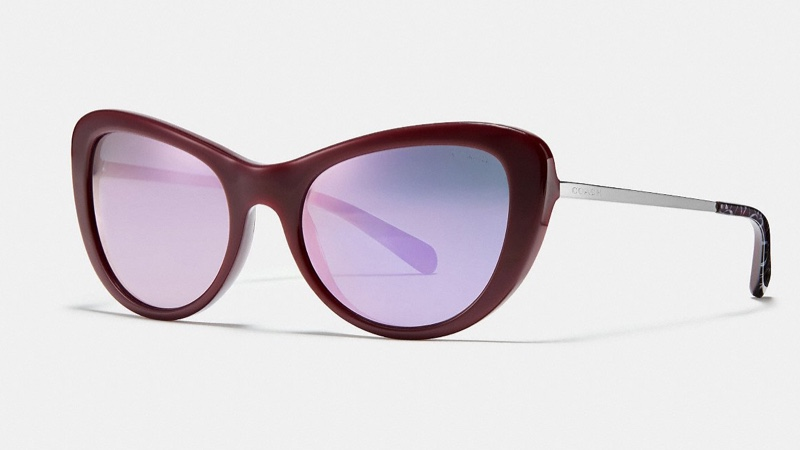 Coach Ombre Signature Cat Eye Sunglasses $175