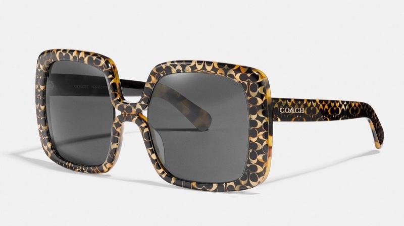 Coach Ombre Signature Square Sunglasses $185