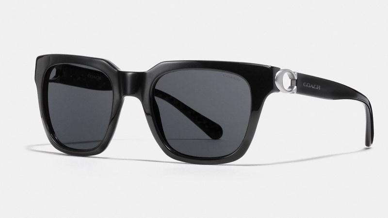 Coach Signature Hardware Square Sunglasses $165