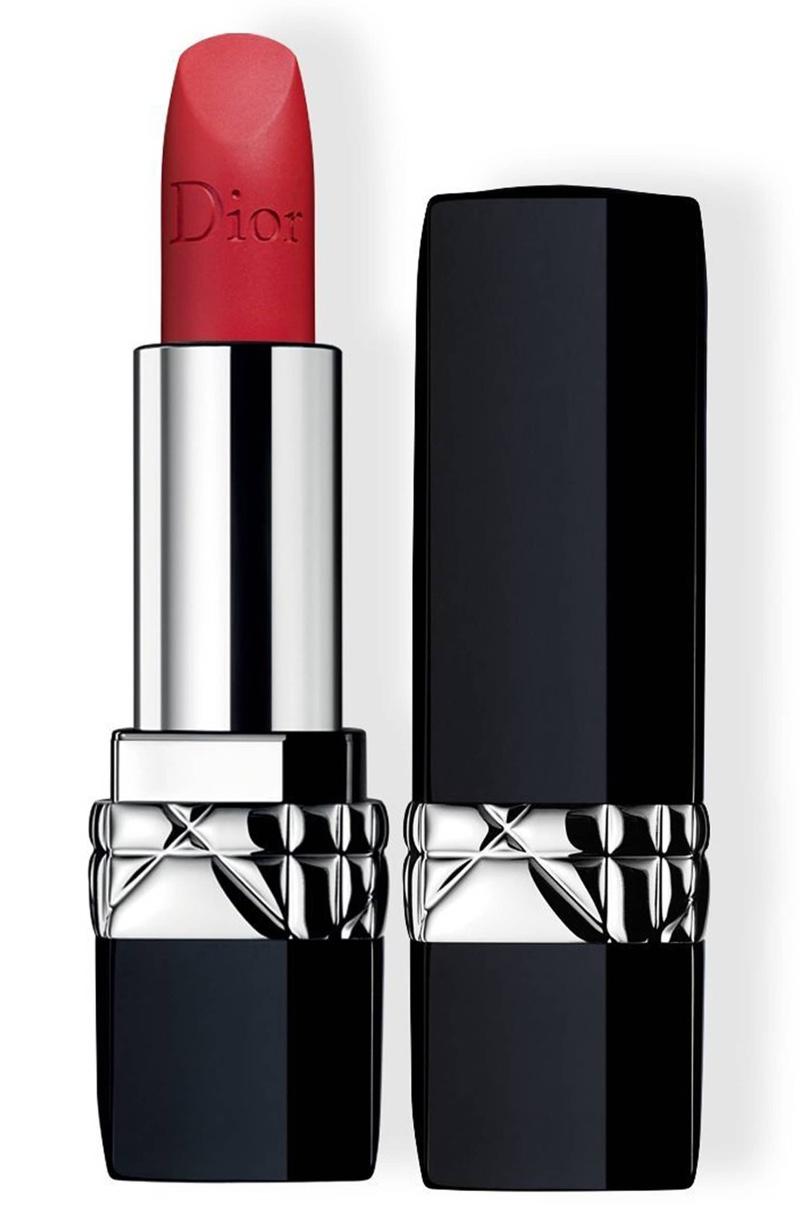Dior Couture Color Rouge Lipstick in 999 Matte $37