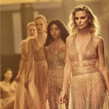BEHIND THE SCENES: Charlize Theron on set of new Dior J'adore Absolu fragrance shoot