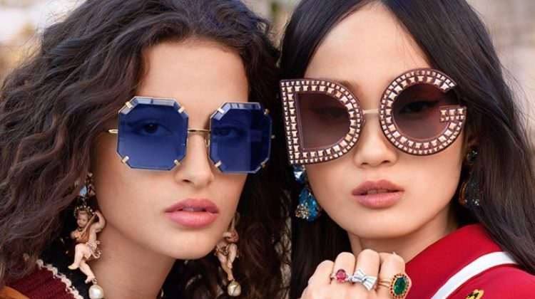 Dolce & Gabbana Eyewear Makes a Statement for Fall '18 Campaign