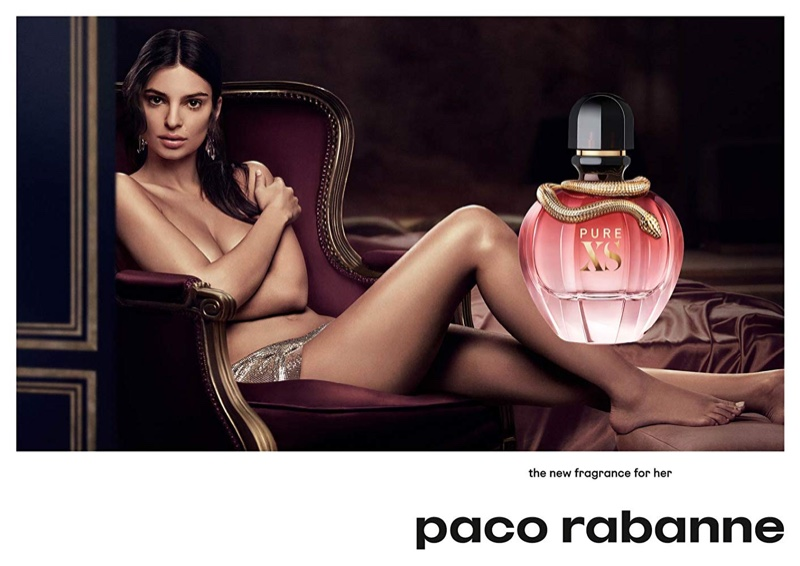 Emily Ratajkowski stars in Paco Rabanne Pure XS for Her fragrance campaign