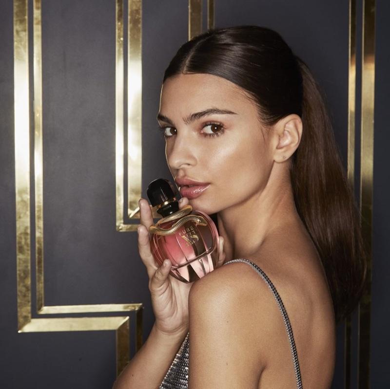BEHIND THE SCENES: Emily Ratajkowski on set of Paco Rabanne fragrance campaign