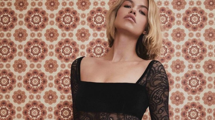 Turn Up the Heat in For Love & Lemons' Fall 2018 Lingerie