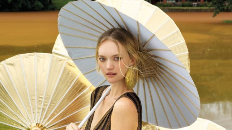 Gemma Ward Takes a Fashionable Tour for Vogue Thailand