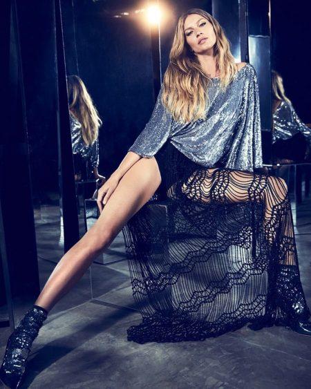 Supermodel Gisele Bundchen appears in Rosa Cha summer 2019 campaign