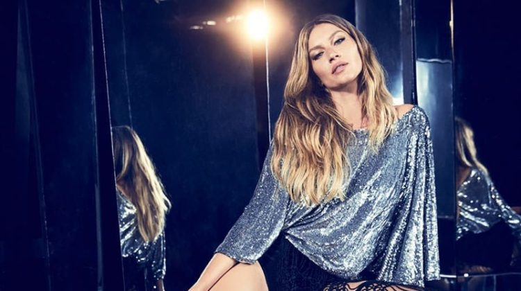 Supermodel Gisele Bundchen appears in Rosa Cha summer 2019 campaign