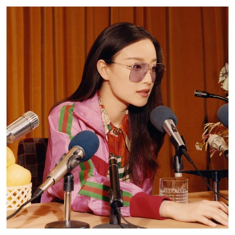 b03a6cf8e97 ... Gucci taps Chinese actress Ni Ni for its fall-winter 2018 eyewear  campaign