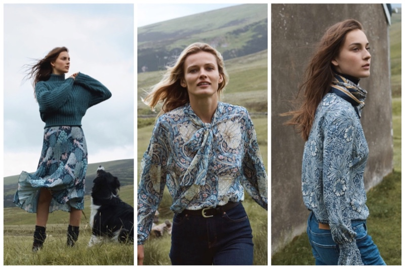 H&M x Morris & Co. clothing collaboration
