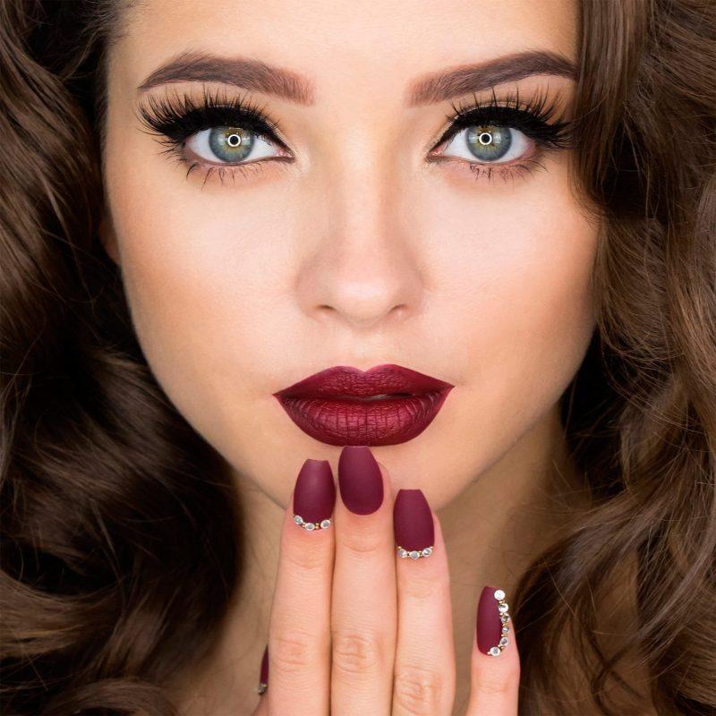 Mink style eyelashes from Huda Beauty, courtesy of Sephora