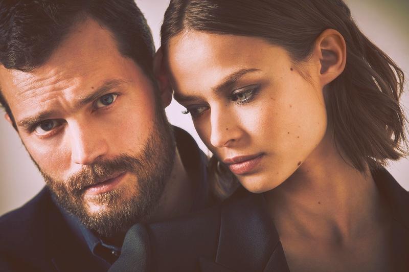 BEHIND THE SCENES: Jamie Dornan and Birgit Kos on set of BOSS The Scent fragrance shoot