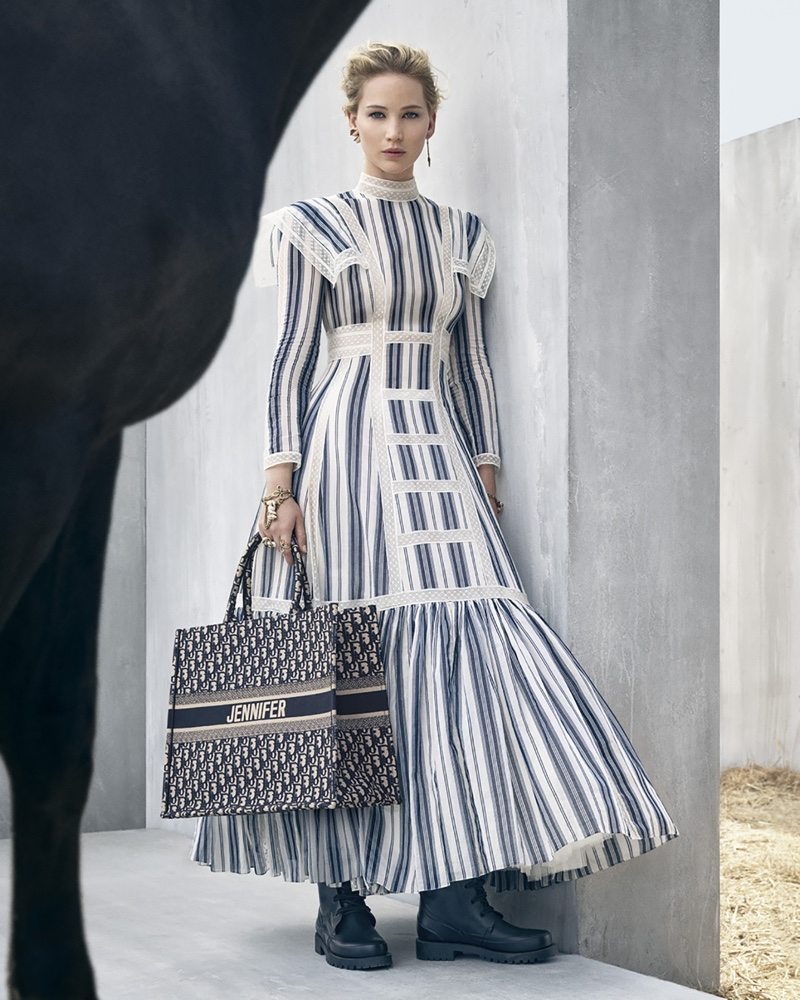 Jennifer Lawrence stars in Dior cruise 2019 campaign