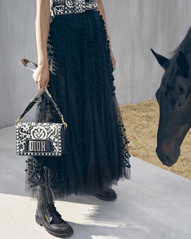 Dior spotlights handbags in its cruise 2019 campaign