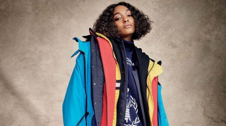 Jourdan Dunn Takes On Fall Outerwear for ELLE Italy