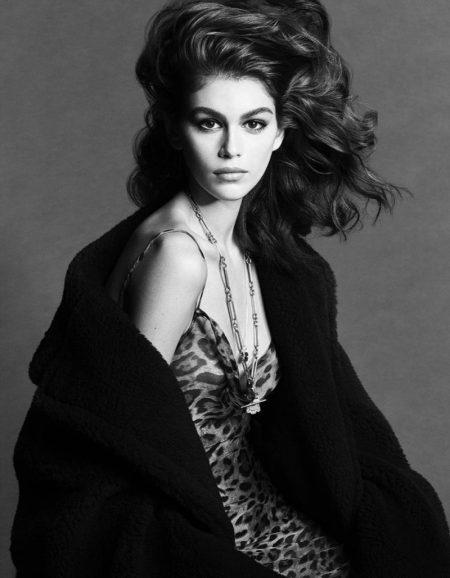 Kaia Gerber Graces the Pages of Vogue Japan