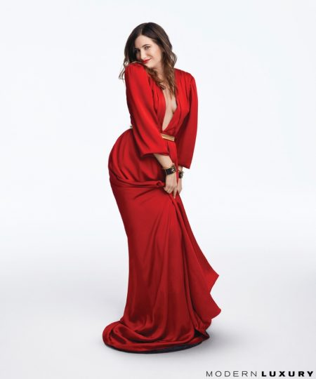 'Private Life' Star Kathryn Hahn Poses for Modern Luxury