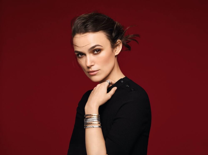 Actress Keira Knightley fronts Chanel Coco Crush jewelry campaign
