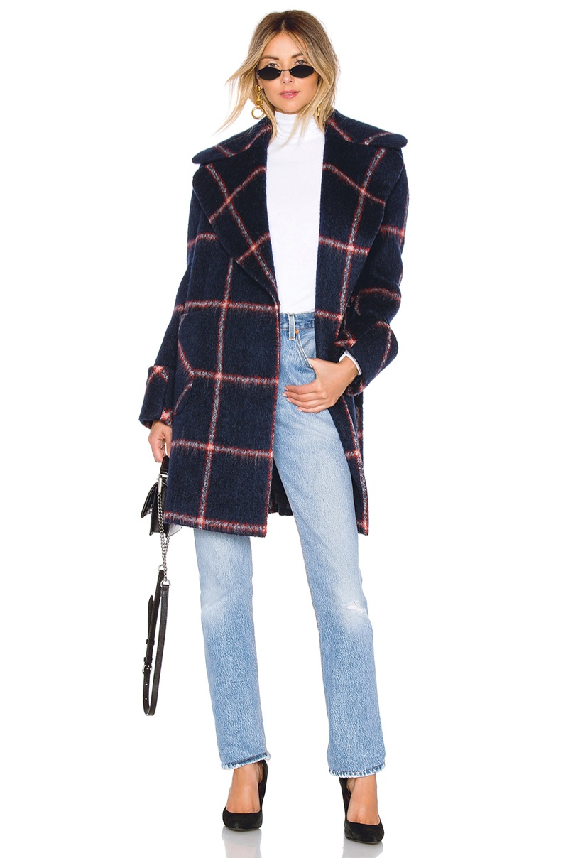 Kendall + Kylie Oversized Wool Coat $280