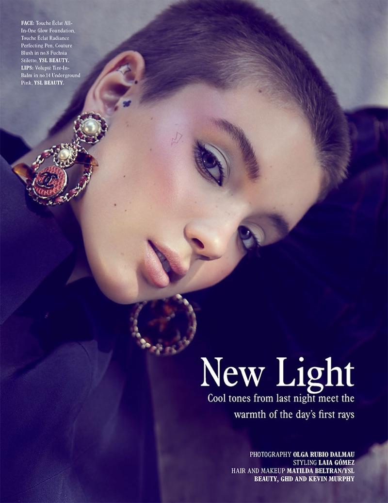 Kristyna Stastova Lights Up the Pages of L'Officiel Singapore