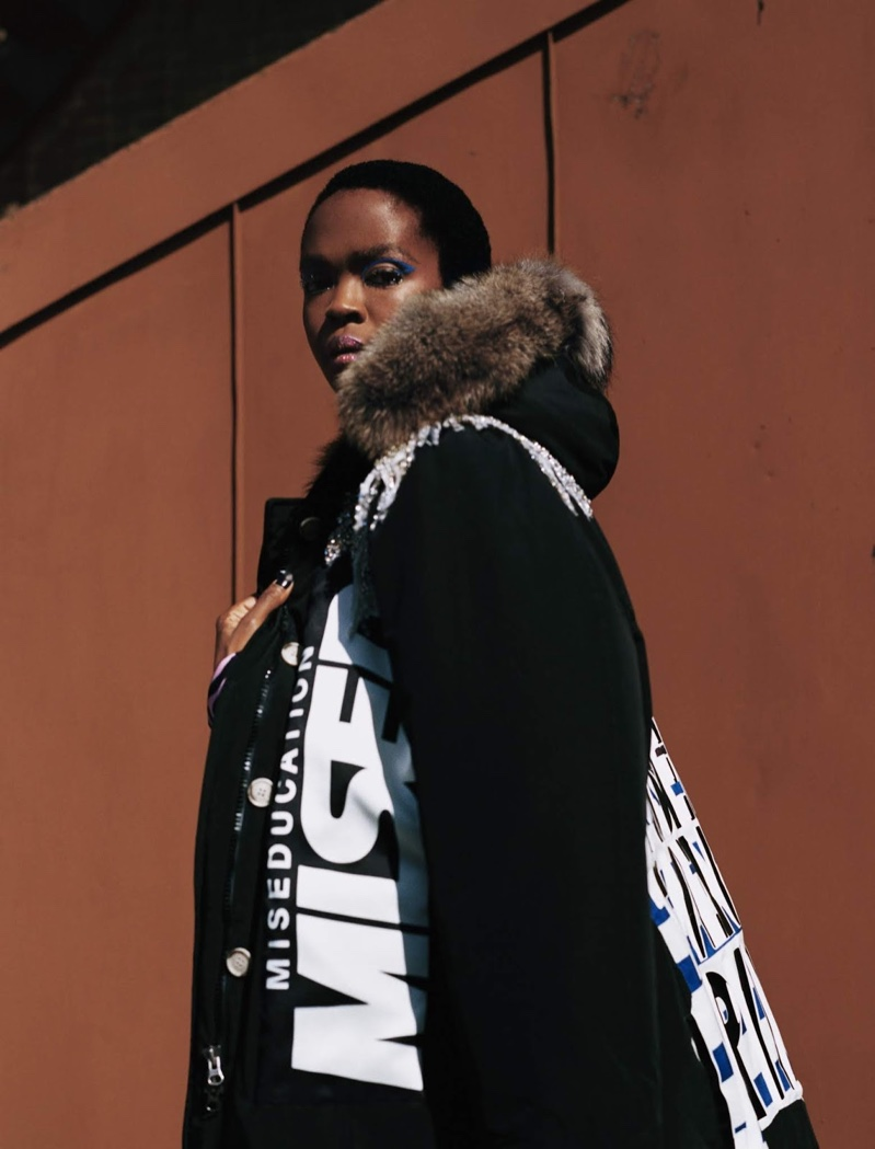 Woolrich taps Lauryn Hill for its fall-winter 2018 campaign