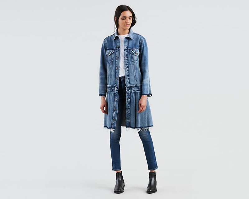 Levi's Made & Crafted Pleated Trucker Jacket $298