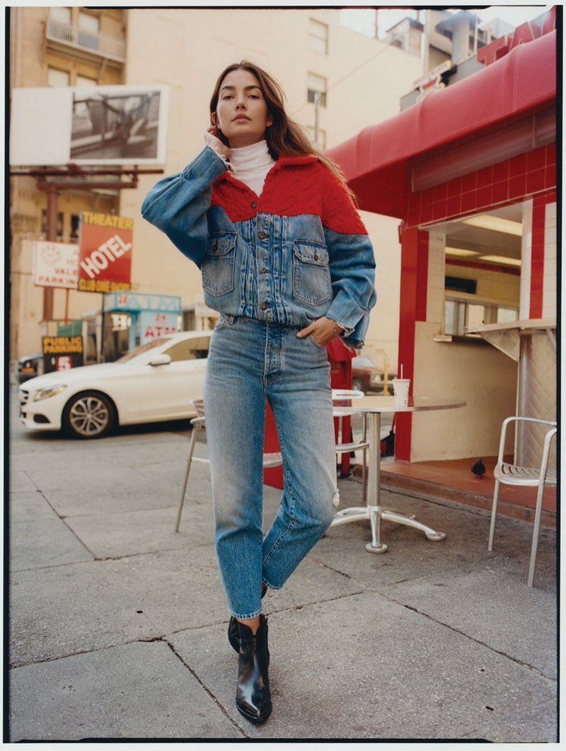 Levi's unveils Made & Crafted campaign with Lily Aldridge