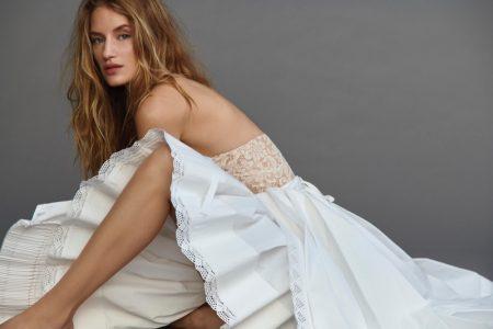 Linda Vojtova is Ethereal in All-White Style for Harper's Bazaar Czech