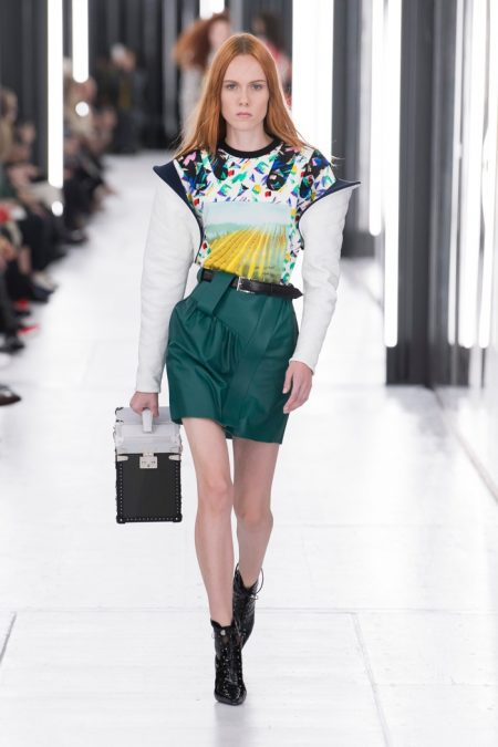 Louis Vuitton Goes Sci-Fi Chic for Spring 2019