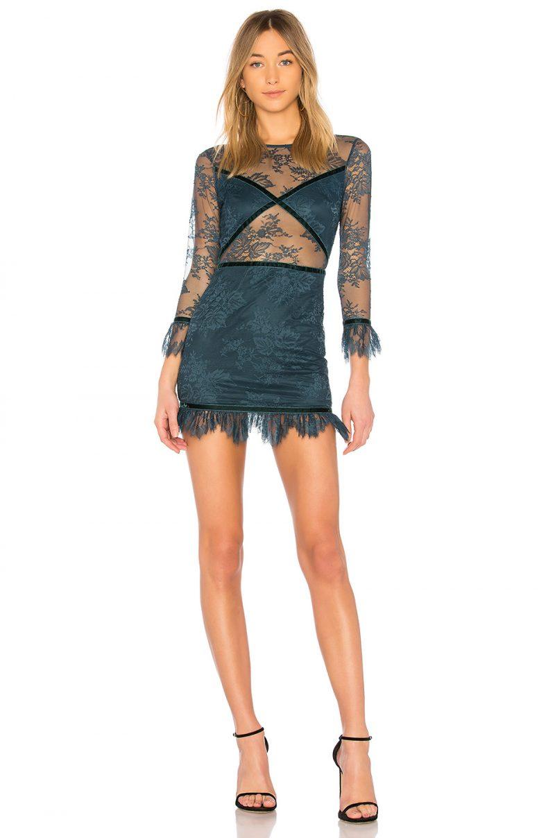 Lovers + Friends Shimmer Mini Dress $198