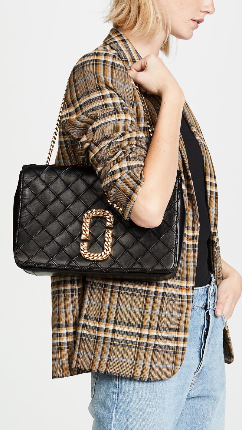 Marc Jacobs St. Marc Trouble Shoulder Bag $1,995